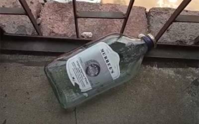 ریلوے ہیڈکوارٹرز سے شراب کی خالی بوتلیں برآمد