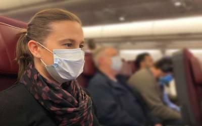 مسافر کے ماسک نہ پہننے پر پائلٹ نے جہاز اتار دیا