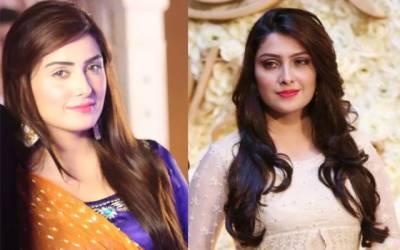اداکارہ عائزہ خان کی زمانہ طالبعلمی کی تصویر وائرل