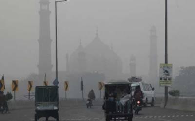 لاہور پر ایک بار پھر سموگ کا خطرہ منڈلانے لگا