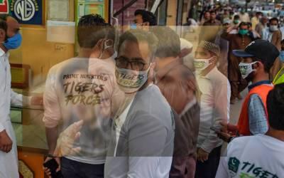 مل ملازمین نے ٹائیگر فورس کی پٹائی کردی
