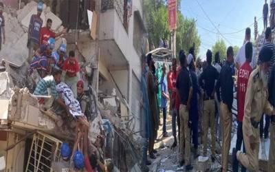 شہر قائد میں دھماکہ،  5  افراد جاں بحق،26 سے زائد زخمی