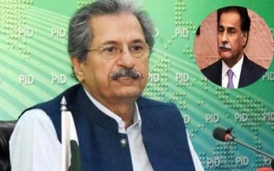 ایاز صادق قوم سے معافی مانگیں: شفقت محمود