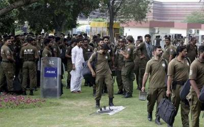 پنجاب پولیس کی تنخواہوں کا فنڈ روک لیا گیا