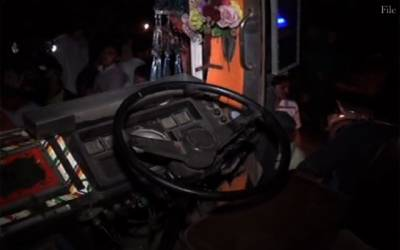 مانگا منڈی خوفناک حادثہ،ورکرز سے بھری بس نالے میں گرگئی