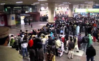لاہور ائیر پورٹ پر فلائٹس کی منسوخی اور تاخیر کا سلسلہ جاری