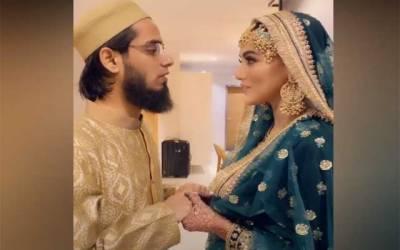 اداکارہ ثنا خان کی نئی ویڈیو سوشل میڈیا پر وائرل
