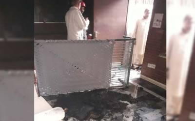 آتشزدگی کا افسوسناک واقعہ، بزرگ شہری جان سے ہاتھ دھو بیٹھا