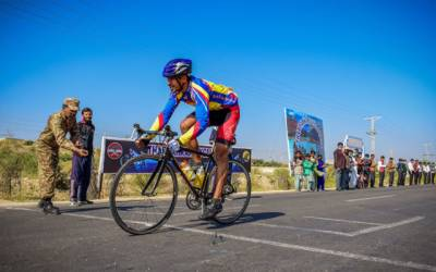 پاکستان آرمی نے تین روزہ سائیکل ریس جیت لی