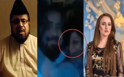 حریم شاہ نے مفتی عبد القوی کی لڑکی کے ساتھ نازیبا ویڈیو شیئر کردی