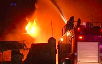 شاہ عالم مارکیٹ میں اچانک آگ بھڑک اٹھی