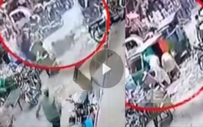 تہرے قتل کے واقعہ کی سی سی ٹی وی فوٹیج منظر عام پرآگئی