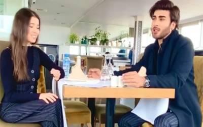 عمران عباس کی ترک اداکارہ کے ساتھ گانے کی ویڈیو وائرل