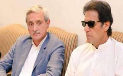imran khan with jahangir tareen