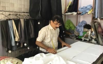 Tailor worry due to corona