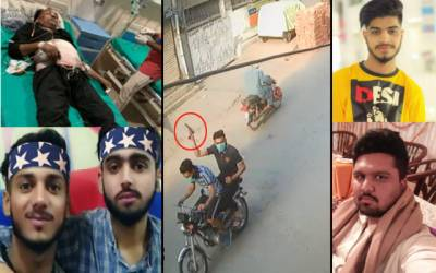 سمن آباد؛مشتعل نوجوانوں کے قاتلانہ حملے کی فوٹیج منظر عام پر آگئیں