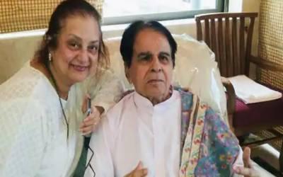 Dileep kumar and Saira Bano