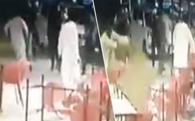 تحریک انصاف یوتھ ونگ سنٹرل پنجاب کے صدر پر فائرنگ ؛فوٹیج منظر عام پر آگئی
