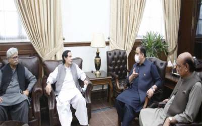 CM meeting with Speaker PA