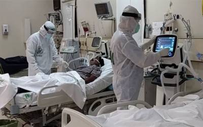 corona patients under treatment