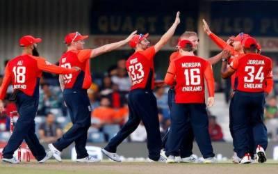 پاکستان کے خلاف انگلینڈ کے ٹی 20 اسکواڈ کا اعلان