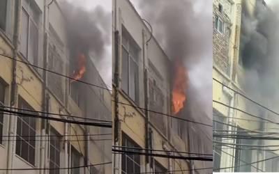 میو ہسپتال میں اچانک آگ بھڑک اٹھی؛سرکاری ریکارڈ جل کرراکھ ہوگیا