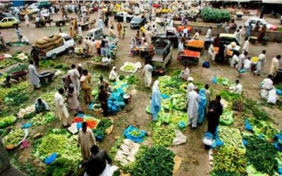منڈی میں سبزیوں کی ترسیل نہ ہونےسے قیمتیں آسمان سے باتیں کر نےلگیں