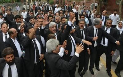 پنجاب بار کونسل کا صوبےبھر میں کل عدالتی بائیکاٹ کا اعلان