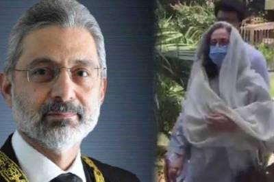 جسٹس قاضی فائزعیسٰی اور اہلیہ کے کورونا ٹیسٹ منفی آگئے،اسپتال سے گھر منتقل