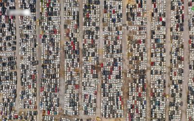 کیسا بنا یہ گاڑیوں کا قبرستان؟