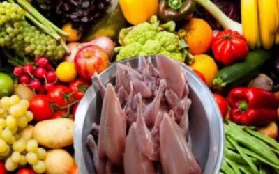 آج کے سبزیوں پھلوں اور گوشت کے نرخ