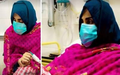 اداکارہ فضا علی کی طبیعت ناساز، مداحوں سے دعاؤں کی اپیل