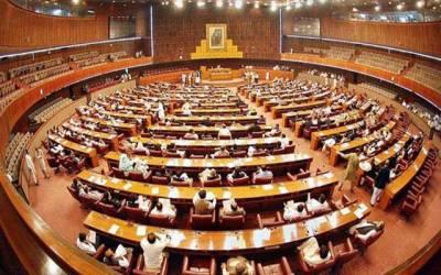 الیکشن ایکٹ ترمیمی بل پارلیمنٹ میں پیش کرنیکا فیصلہ