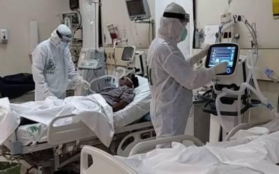 NCOC report regarding covid 19 cases in hospital