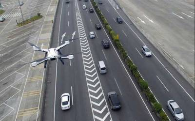 Motorways police to use drone cameras