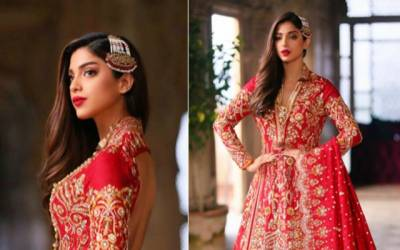 Sonya Hussain bridal shoot