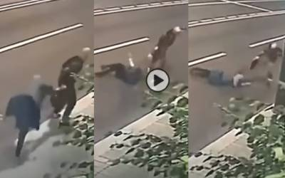robbery video viral