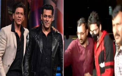 Salman Khan's meeting with Shah Rukh Khan after the arrest of Aryan Khan