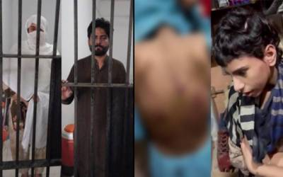 torture on kid in lahore