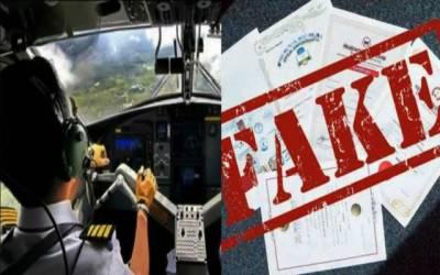 Fake license of pilots