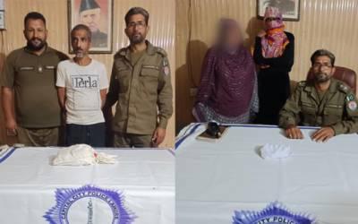 Drug Dealers Arrested by Lahore police